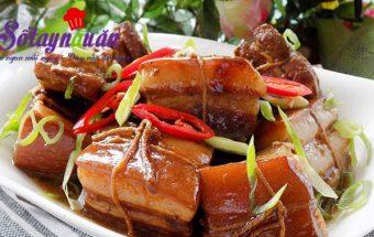 cách nấu món kho, Thịt kho Đông Pha gây nghiện miếng đầu tiên