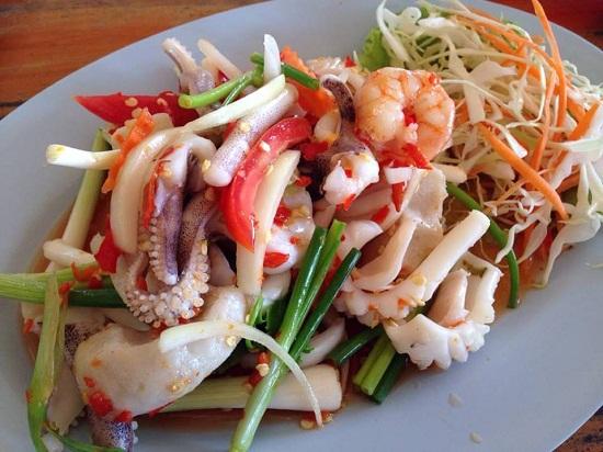 Nấu ăn, Cách làm gỏi mực kiểu Thái ngon miễn chê