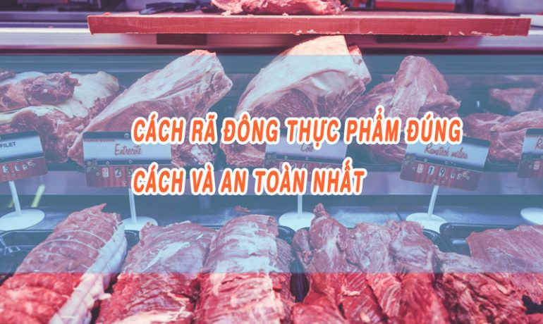 dạy nấu ăn ngon, RÃ ĐÔNG THỊT nhanh chóng chỉ với cách đơn giản này, thịt tươi mềm ngon như mới
