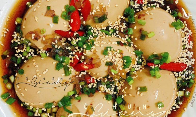 Nấu ăn, Cách làm trứng gà ngâm xì dầu lạ miệng thơm ngon